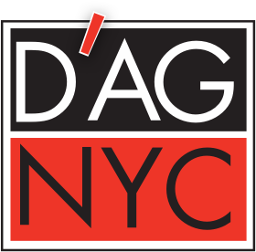 A theme logo of D'Agostino